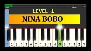 nada piano nina bobo tutorial piano grade 1 lagu anak2 indonesia nina bobo