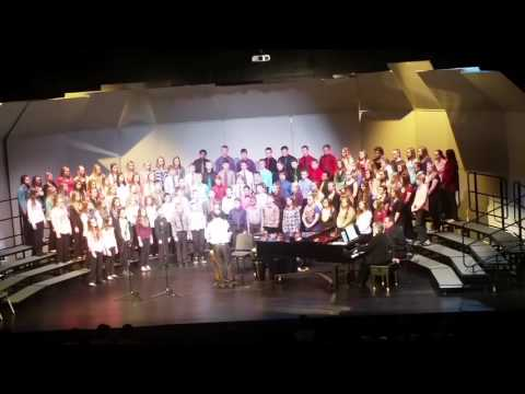 Simle Middle School choir Bismarck, ND
