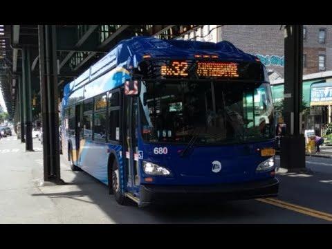 Mta 2016 New Flyer Xn40 Xcelsior Cng Low Floor 680 Bx32 Bus
