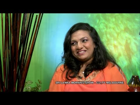 Chamari Weerakoon at Sri Lanka Morning Show, Melbourne, Australia Channel 31 - Part 2