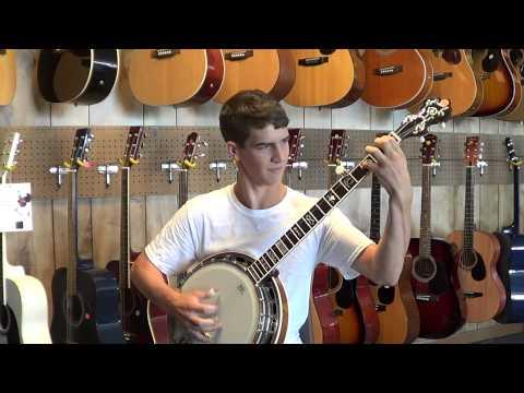 "Daniel Norton Plays ""Swamp Fox"" a Banjo Instrumental"
