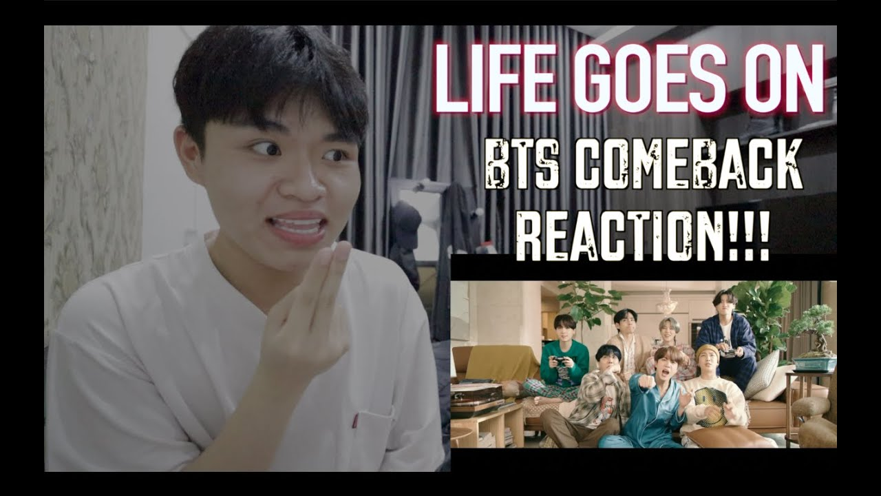 Reaction/Vietnam : 'Life Goes On' - BTS COMEBACK!!!   Cảm nghĩ của bản thân Ren về MV lần này