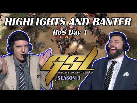 Tasteless And Artosis - StarCraft II - GSL 2019 Season 3 Ro. 8 Day 1 - Highlights And Banter