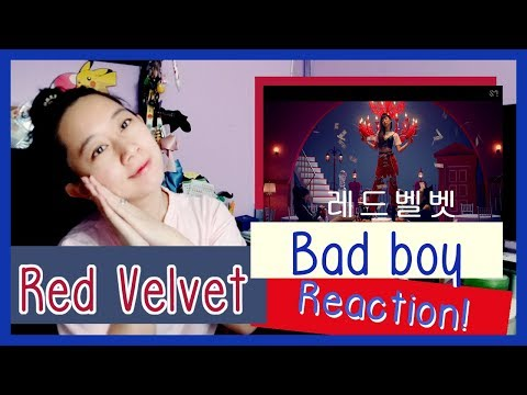 Red Velvet 레드벨벳 -  Bad Boy  Reaction  ♫