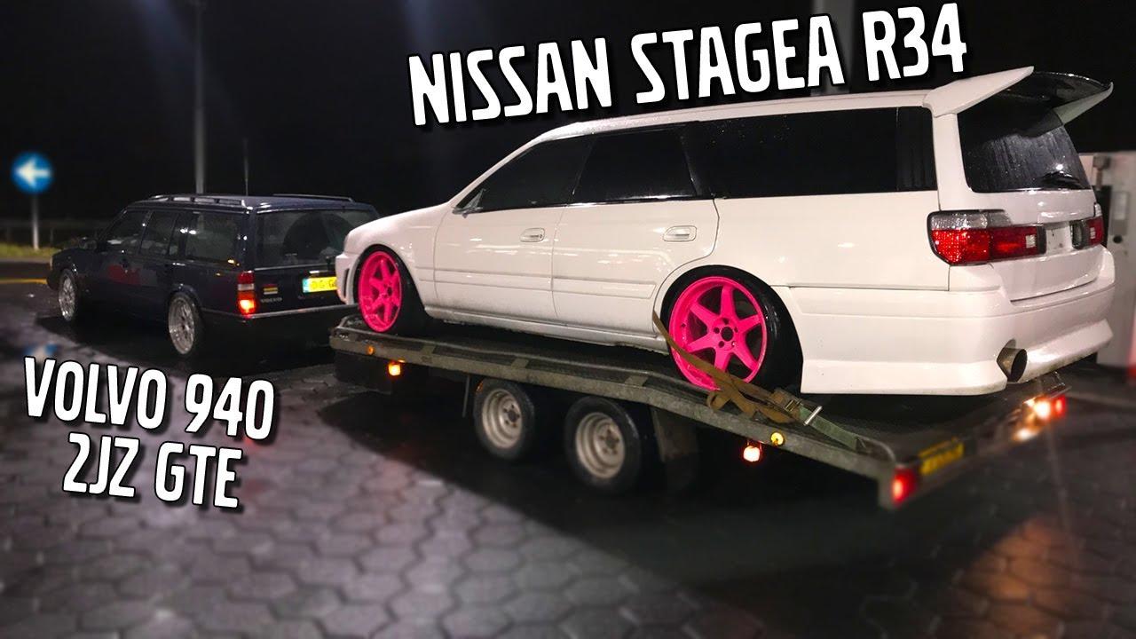 Nissan Stagea RB26 Swap. Pt.2 - 4WD to RWD & Belt, Oil Pump, Seals .
