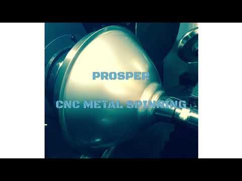 Reflector spinning:CNC metal spinning machine
