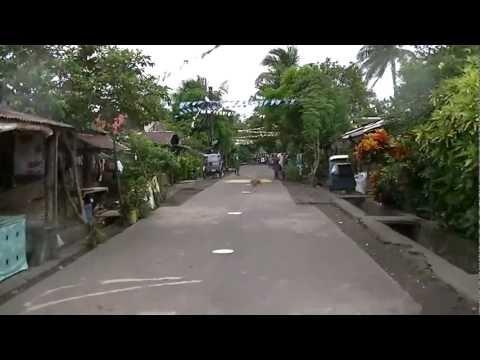 Driving in Fatima, Tabaco City,  Albay