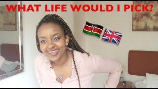 """KENYA VS ENGLAND - WHAT LIFE WOULD I PICK?? "" 🇰🇪🇬🇧"