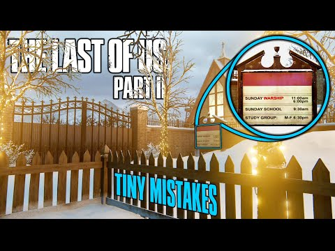 Tiny Mistakes in The Last of Us Part II #2