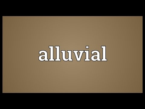 Alluvial Meaning