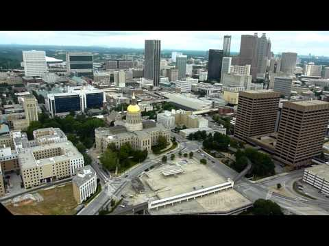 The only way to see Atlanta in a half an hour- Prestige Helicopter downtown tour :D