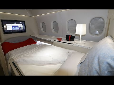 Air France La Premiere First Class Paris to Tokyo Flight Exp