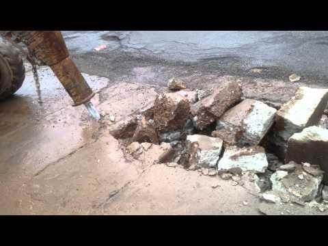 S185 Breaking Concrete