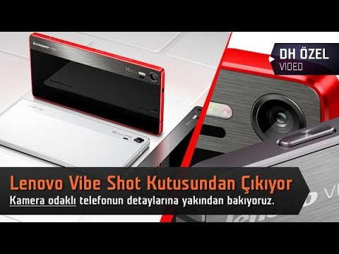 Lenovo Vibe Shot Kutu Açılımı