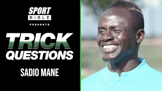 Sadio Mane Sings The Oh Mane Mane Liverpool Song! | Trick Questions