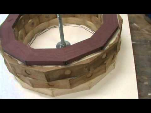 Turning a Segmented Bowl Part 1   8-29-11.wmv