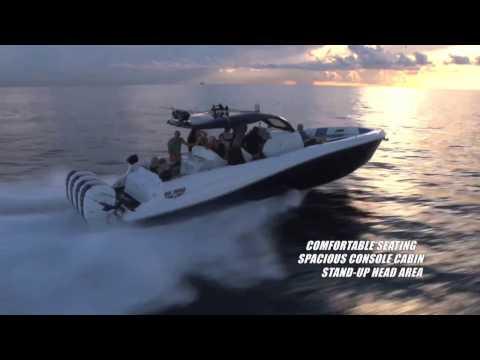Deep Impact 399 Terry Sobo walk through 2017 Palm Beach Boat Show
