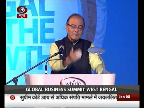 Global Business Summit begins in West Bengal