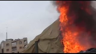 بالفيديو.. مقتل 2 من الروس في قصف لمستشفى عسكري بحلب.. وموسكو تحمّل أميركا وبريطانيا وفرنسا المسؤولية