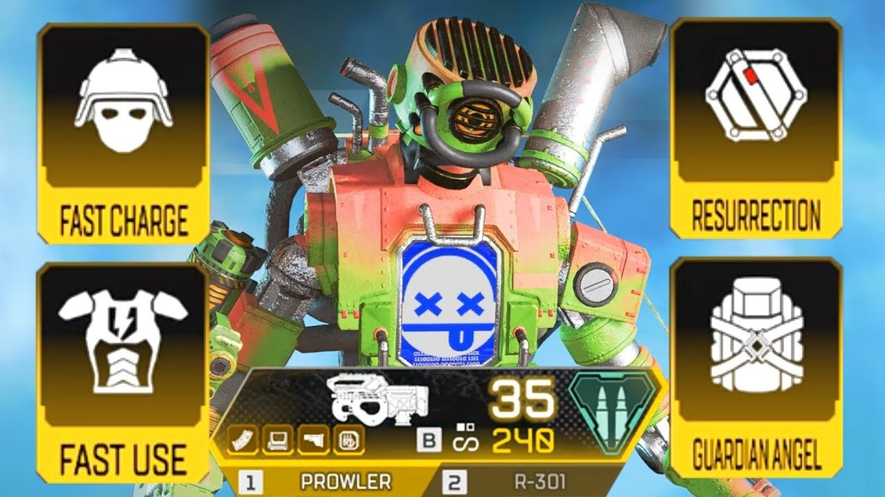 The FASTEST way to get ALL GOLD ITEMS in Apex Legends