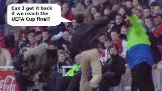 Middlesbrough v Aston Villa 2005-06 SEASON TICKET THROWER CATTERMOLE CRYING