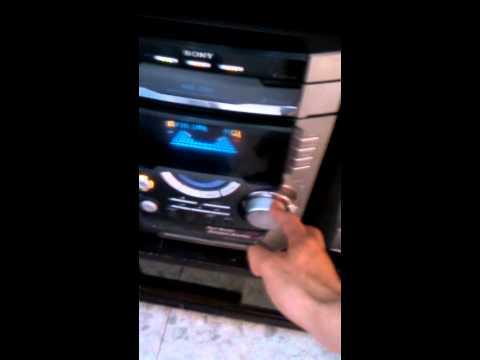 Equipo De Sonido Sony Con Amplificador + Mesa