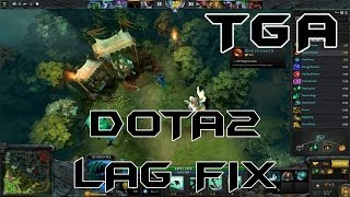 [SOLVED] LAG FIX- DOTA 2