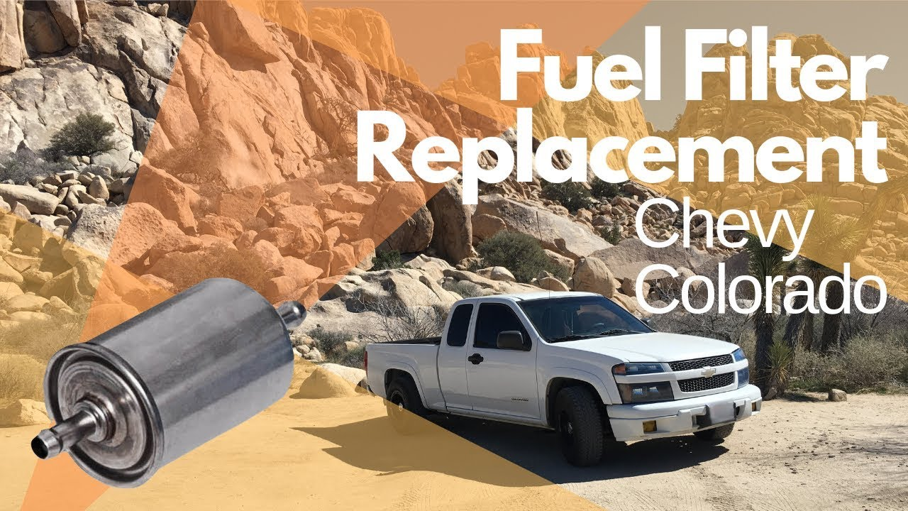 hight resolution of how to replace the fuel filter on a 2004 chevy colorado