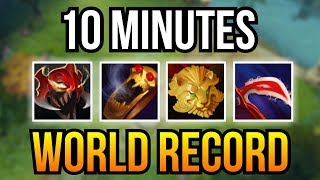 GOLD HACK? - WTF 10 Min 4 Items Crazy Farm Brood Mother by Mag 7.07 | Dota 2