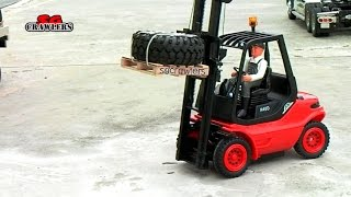 carson 1 14 functional model linde h 40 d forklift truck with remote control