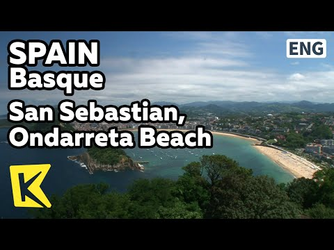 【K】Spain Travel-Basque[스페인 여행-바스크]산 세바스티안, 온다레타 해변/San Sebastian, Ondarreta Beach/Gipuzkoa/Monte