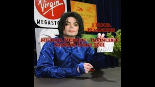 Michael Jackson - Invincible Signing Event 2001