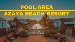 Pool Area | Azaya Beach Resort Goa | Sahil Taksh