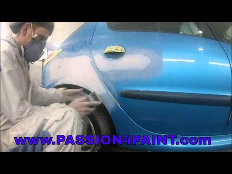 Part 1, Peugeot 206 Repair and Paint , including Materials, Tooling and Setup Advice