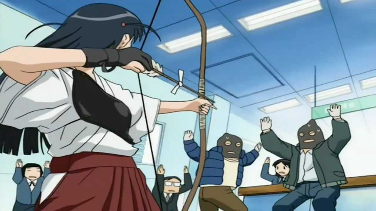 10 school animes with crazy students!