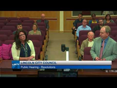 Lincoln City Council December 11, 2017