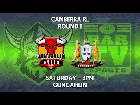 2018 Canberra RL 1st Grade Round 1 - Gungahlin Bulls v Queanbeyan Kangaroos