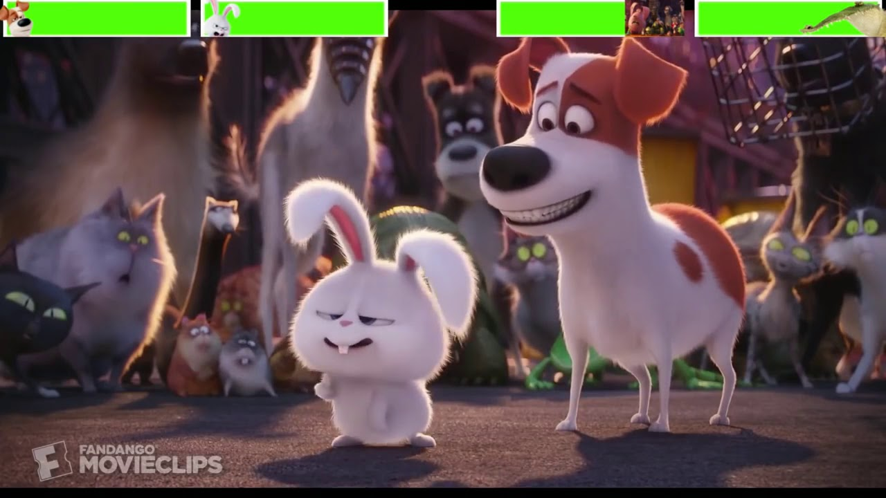 Download The Secret Life of Pets Final Battle with healthbars (Edited by @Gabe Dietrichson )