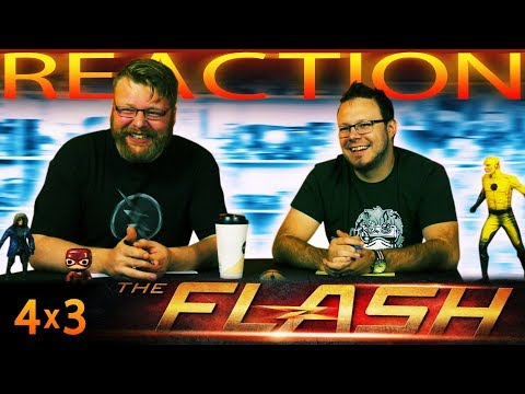"The Flash 4x3 REACTION!! ""Luck Be a Lady"""