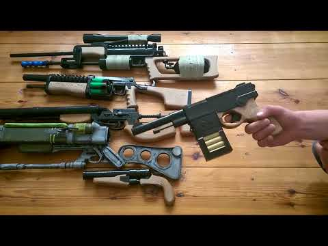 My arsenal of weapons 5  Cardboard models