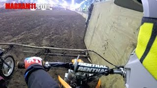 4 YEAR OLD LIL MADRAM11 RACES HIS KTM MINI SX 50 in ARENACROSS