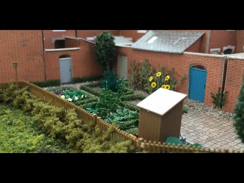 Developing the Town Scene - Part 4 - Gardens & School Playgrounds