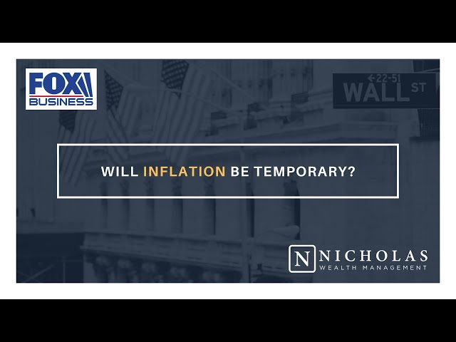 Will Inflation be Temporary?