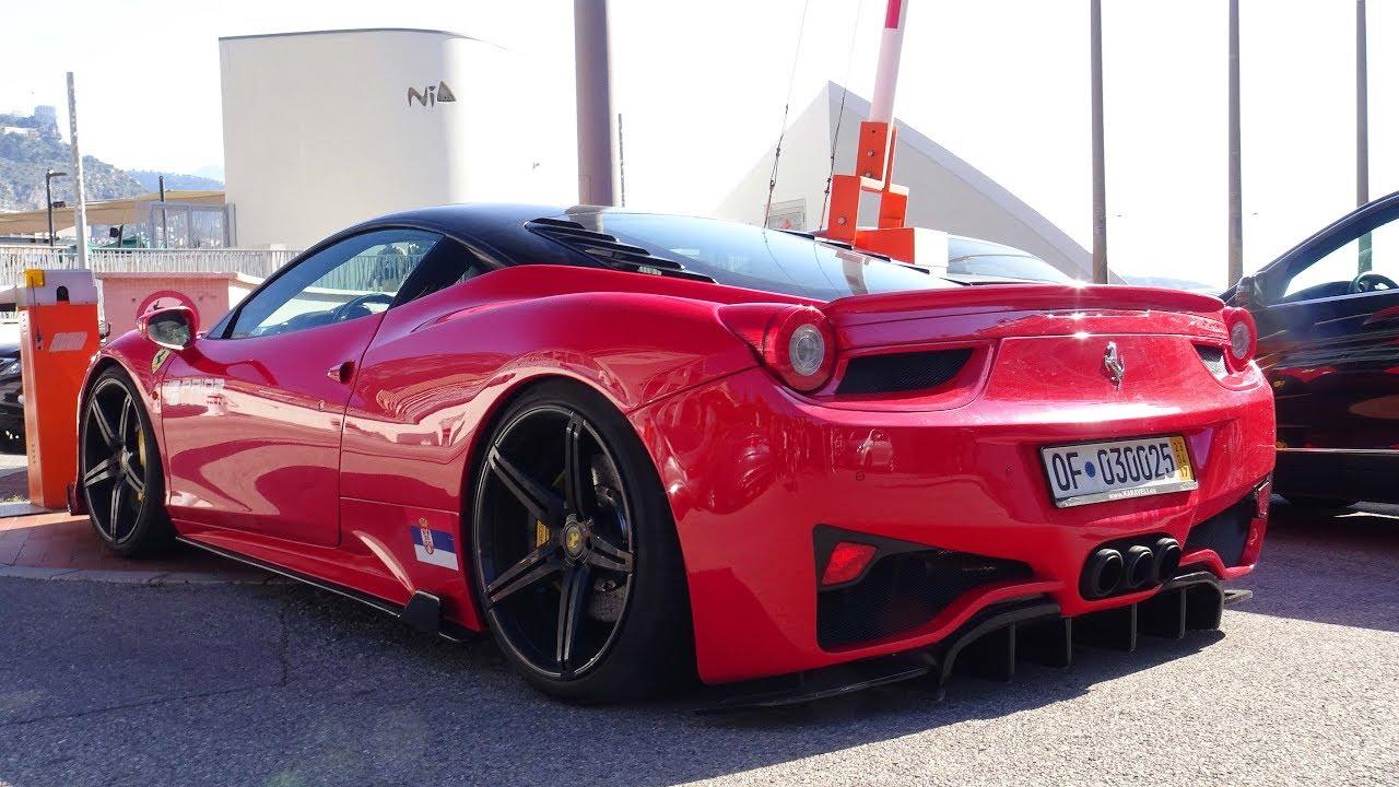 Prior Design Ferrari 458 Italia Crazy Sounds Revs And