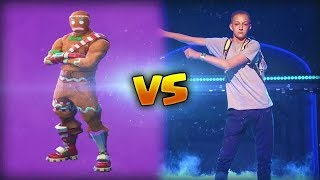 FORTNITE : les danses de fortnite dans le jeux vidéo VS la vraie vie