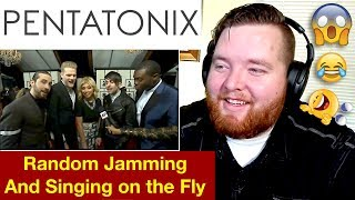 Pentatonix | Random Jamming and Singing on the Fly | Jerod M Reaction