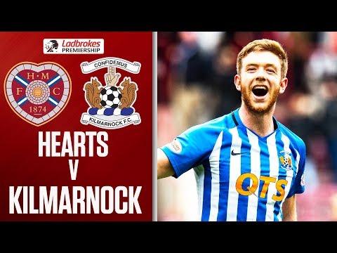 Hearts 0-1 Kilmarnock   Late Findlay Strike Sends Killie Third   Ladbrokes Premiership