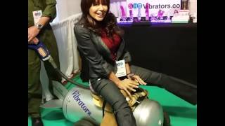 """Dr. Ava Riding """"The Bombshell"""" at Sexual Health Expo"""