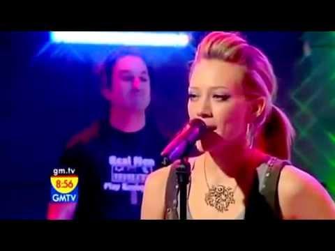 Hilary Duff - Wake Up Live - On GMTV 2005 - HD