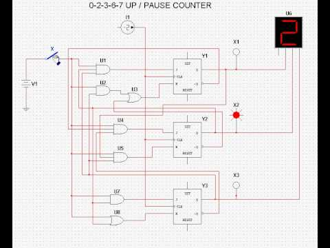 4510 Bcd Up/down Counter